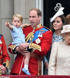 Prince George was SO adorable at the Trooping the Colour festivities! Click through to see his new pictures.