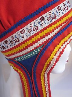 Folklore, Bonnet Hat, Sewing Studio, Marimekko, Christmas Photos, Norway, Scandinavian, Textiles, Wool