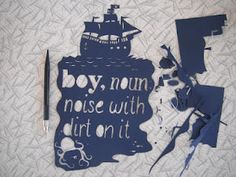 paper cut by nia may