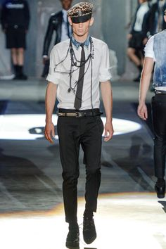 Dsquared² Spring 2013 Menswear Collection Slideshow on Style.com
