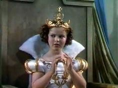 Shirley Temple in Little Princess wearing a crown made by Joseff Hollywood