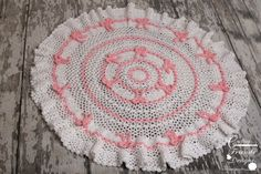 CROCHET PATTERN - Rings of Ribbon Spring Afghan, Rug, Infant or Toddler size, 49 inch round blanket digital pdf crochet pattern Afghan Crochet Patterns, Knit Patterns, Crochet Stitches, Crochet Afghans, Knit Or Crochet, Easy Crochet, Crotchet, Crochet Crafts, Crochet Ideas