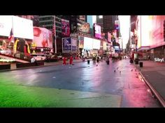 Times Square - Shifting Flows