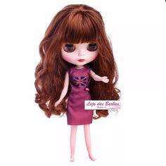 Roupa Para Boneca Blythe + Sapato ! Vestido * Sapatinho * 21 - R$ 24,90 em Mercado Livre
