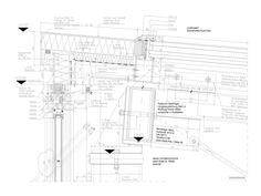 CAD-Detail Glass-Roof / CW-Façade
