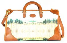 Mrs. P. Hicks bag (crafted by J.W. Hulme Co. and featuring a photo by Caesy Oney), $590