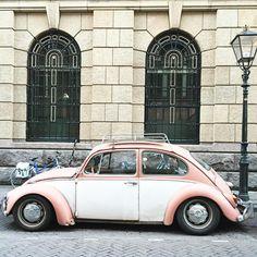 Pastel ride #vw #thehague #070 #vintage #oldtimer #littlesmilemakers