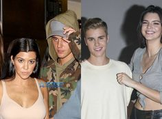 Justin Bieber Rumored Love Triangle With Kourtney Kardashian And Kendall Jenner Remember when we told you that Kourtney Kardashian might be getting her groo...