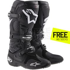 2015 Alpinestars Tech 10 Boots - Black