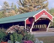 The covered bridge in Jackson, NH..one of our favorite places to ride.  Come ride with us! www.vestavelo.com