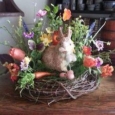 100 beste DIY Ostern Mittelstücke - Like. Easter Flower Arrangements, Easter Flowers, Floral Arrangements, Easter Crafts, Easter Decor, Easter Centerpiece, Easter Ideas, Bunny Crafts, Easter Gift