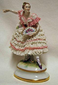 Volkstedt porcelain figurine