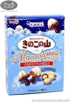 Sometimes Foodie, Meiji Kinoko No Yama Macadamia - Review
