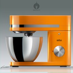 Iconic Stand Mixer on Behance