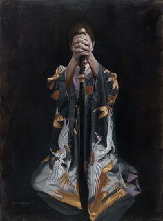 """""""Solace"""" - Larissa Morais (Oil)"""