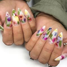 Summer nails are way different from winter nails. The colors are brighter, the shapes are bolder and the designs are more elaborate. Nails Now, Polygel Nails, Sexy Nails, Dope Nails, Stiletto Nails, French Manicure Gel Nails, Acrylic Nails, Acrylics, Winter Nails