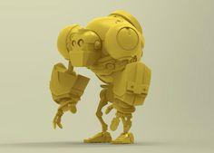 Iron Tiny by Shoulong Tian, via Behance