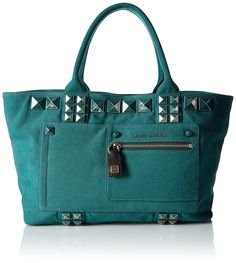 Marc Jacobs Canvas Chipped Studs Tote Bag * Read more reviews of the product by visiting the link on the image.