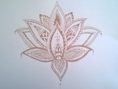 Mandala lotus flower  draw by myself. I take this picture on my instagram