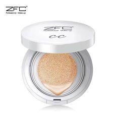ZFC气垫cc霜 美白保湿遮瑕提亮肤色滋润强隔离控油补水裸妆粉底