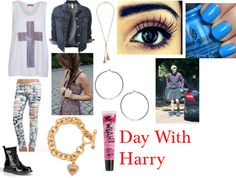 """""""Day With Harry"""" by ashleyassanah ❤ liked on Polyvore"""