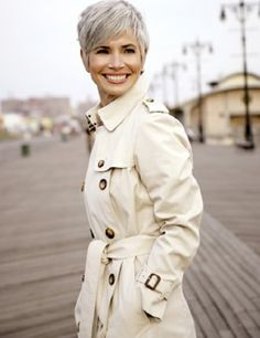 New Hair White Silver Short Pixie Cuts Ideas Photos Of Short Haircuts, Short Grey Haircuts, Short Hair Cuts, Short Hair Styles, Natural Hair Styles, Pixie Cuts, Short Pixie, Short Bangs, Hairstyles Haircuts