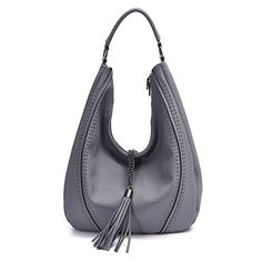 Handbags for Women Hobo Shoulder Bags Leather Tote PU Fashion Large Capacity Purses ** Check out this great article. Hobo Bags, Hobo Handbags, Leather Handbags, Leather Bag, Leather Shoulder Bag, Shoulder Bags, Totes, Image Link, Purses