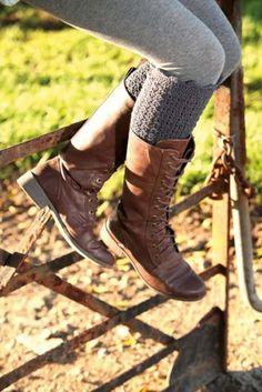Crochet leg warmers   DAILYFIX