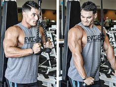 Prioritize your arm training with this hyper-intense technique for explosive biceps and triceps growth. Fitness Gym, Muscle Fitness, Fitness Motivation, Health Fitness, Fitness Routines, Exercise Routines, Muscle Men, Physical Fitness, Get Bigger Arms