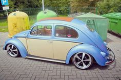 Very cool-looking VW Beetle