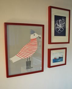 This wall décor would be the perfect fit for a beach or nautical themed room - boys room
