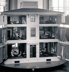 dollhouses | back&white | This Morning is History
