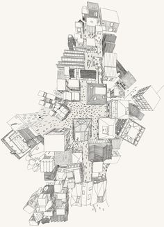 Un futur High Street per Neil Michels, Studio 7, Sheffield Escola d'Arquitectura  Tumblr