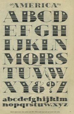 America high contrast serif font alphabet inspiration from the Speedball textbook Doodle Lettering, Lettering Styles, Typography Letters, Typography Design, Hand Lettering, Lettering Guide, Font Alphabet, Calligraphy Course, Poster Layout