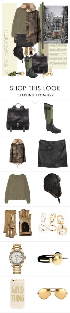 """""""Winter Welcome /1.2017"""" by jelena-m-s ❤ liked on Polyvore featuring Proenza Schouler, rag & bone, Mr & Mrs Italy, The Row, Hudson's Bay Company, Gucci, Rolex, ASOS, Sonix and Linda Farrow"""