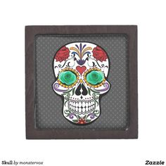 Skull Keepsake Box #Skull #Bone #Skeleton #Holiday #Halloween #Keepsake #Trinket #Jewelry #Gift #Box