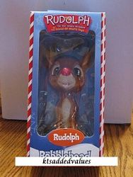 Rudolph Red nosed Reindeer Island Misfit 6 Rudolph Bobblehead : KTs Added Values, Collectibles Home and Kitchen Decor