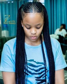 53 Box Braids Hairstyles That Rock - Hairstyles Trends Box Braids Hairstyles, Braided Cornrow Hairstyles, Braids Hairstyles Pictures, Braided Hairstyles For Black Women, African Hairstyles, Natural Hair Braids, Braids For Black Hair, Natural Hair Styles, Hair Twist Styles