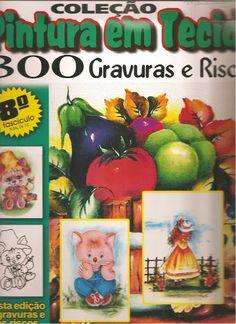 Pintura em tecido 5 - Rosana Carvalho - Picasa Web Albums...FREE MAGAZINE!!