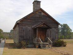 Old church in Pembroke, NC