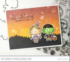 Stamps: Happy Haunting Die-namics: Happy Haunting, Grassy Hills  Jodi Collins #mftstamps