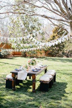 Quedamos en on pinterest fiesta party fiestas and deco - Decoracion fiesta jardin ...