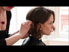 How to do a messy bun with Regis and the GHD Peacock collection