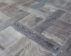 Reclaimed oak French parquet Chantilly smoked and lyed ...