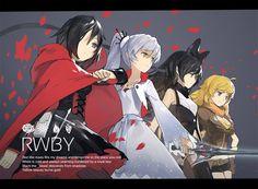 Ruby Rose Long Weiss Schnee Blake Belladonna Yang Xiao RWBY Anime Girl HD Wallpaper Desktop PC Background 1670