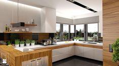 DOM W STYLU GLAMOUR - Kuchnia, styl nowoczesny - zdjęcie od PEKA STUDIO