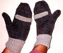 Lady's Work Mittens