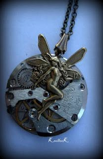 Fairy Steampunk Necklace