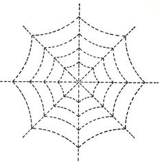 I found this design in my 1930's quilting scrapbook. Perfect for Halloween or a bug quilt, the design printed out from the PDF file below measures close to 6 x 6 inches. It's suggested that the cobweb pattern be perforated,...