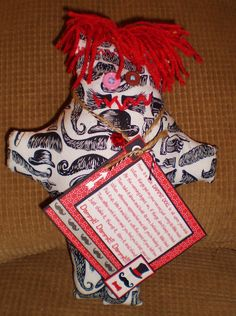 Mustaches Dammit Doll - Laurie's DDoLLs
